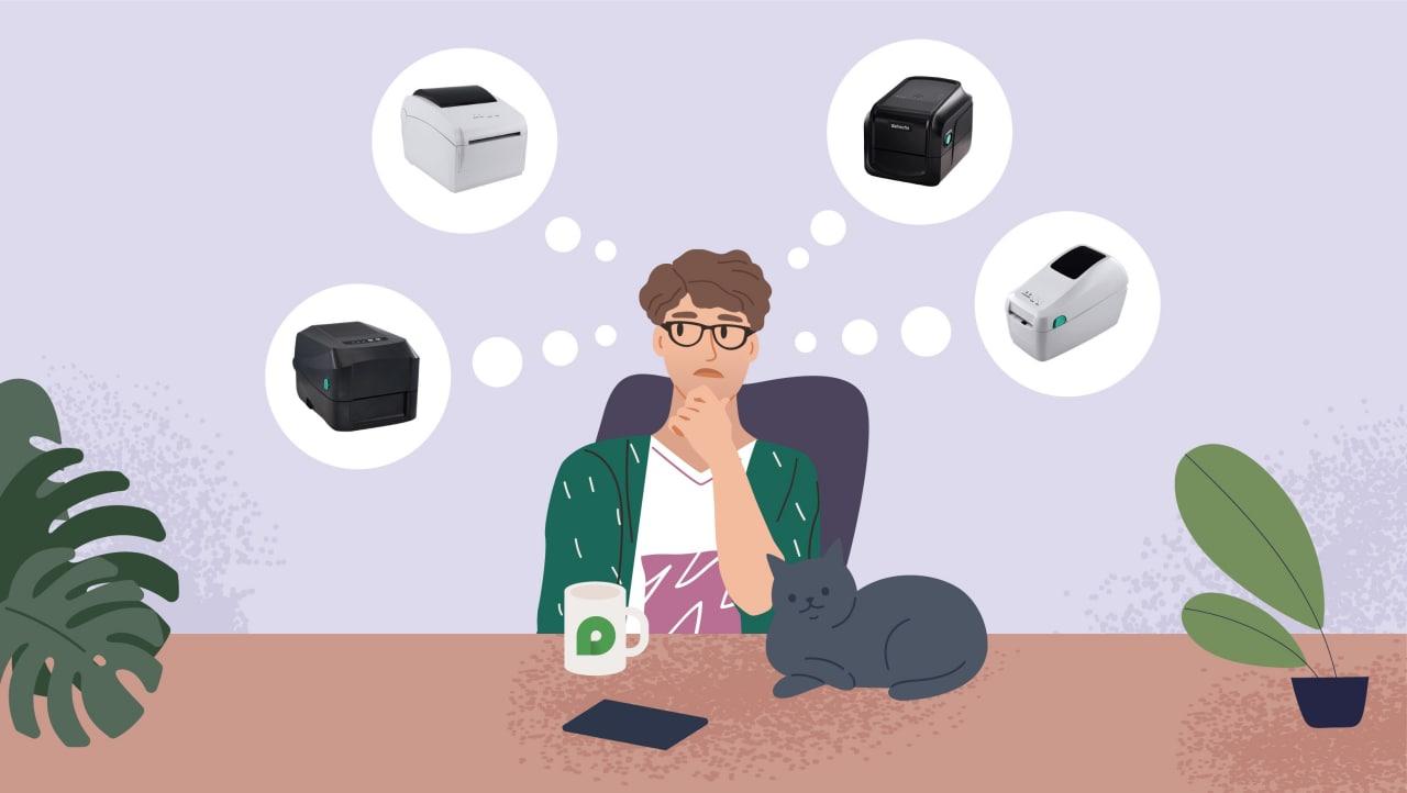 Принтер этикеток: как выбрать, лучшие модели